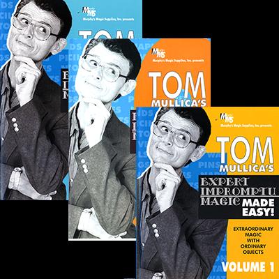 Mullica Expert Impromptu Magic Made Easy Set (Vol 1 thru 3) Tom Mullica