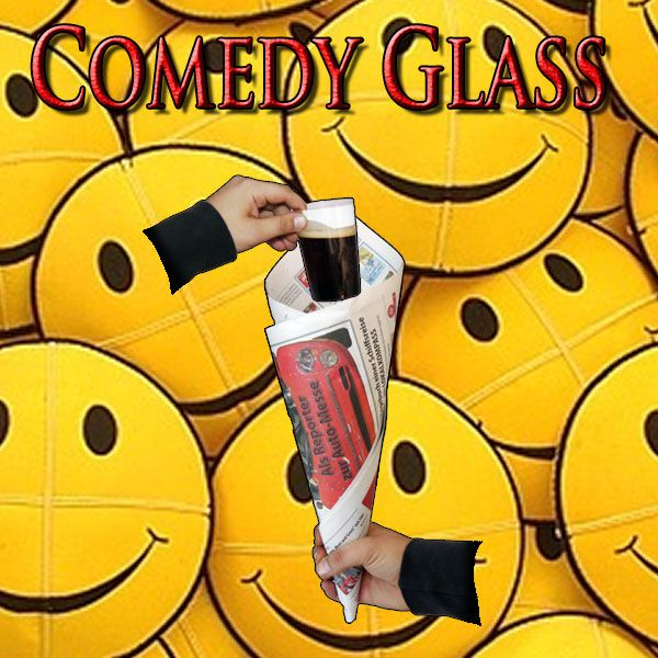 Comedy Glass Zaubertrick Stand-Up