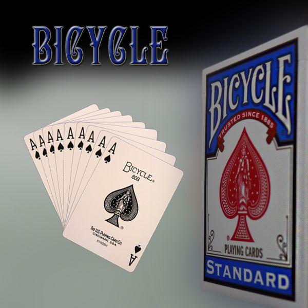 Bicycle Forcierspiel, Trickkartenspiel für Zauberkünstler