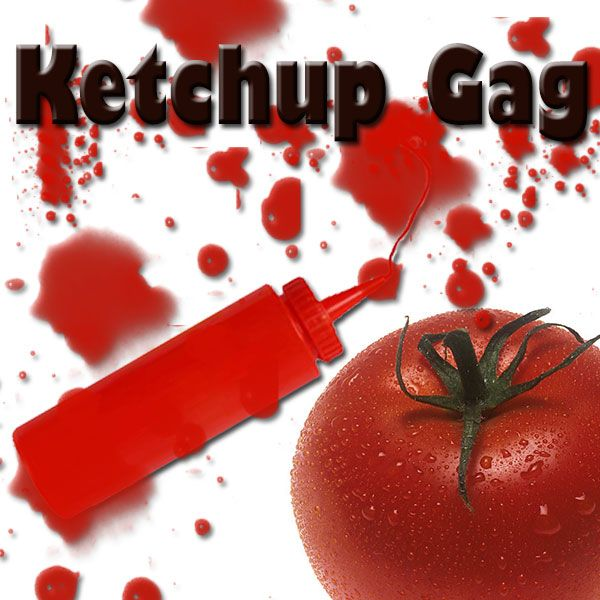 Ketchup Gag zauberzubehör