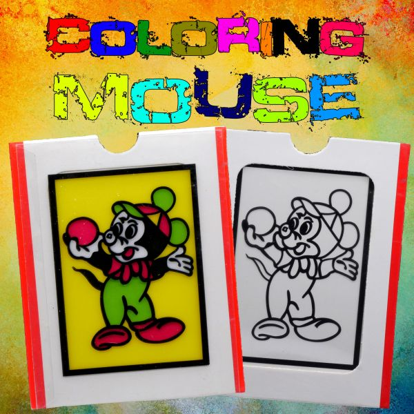 Coloring Mouse Kinderzauberei
