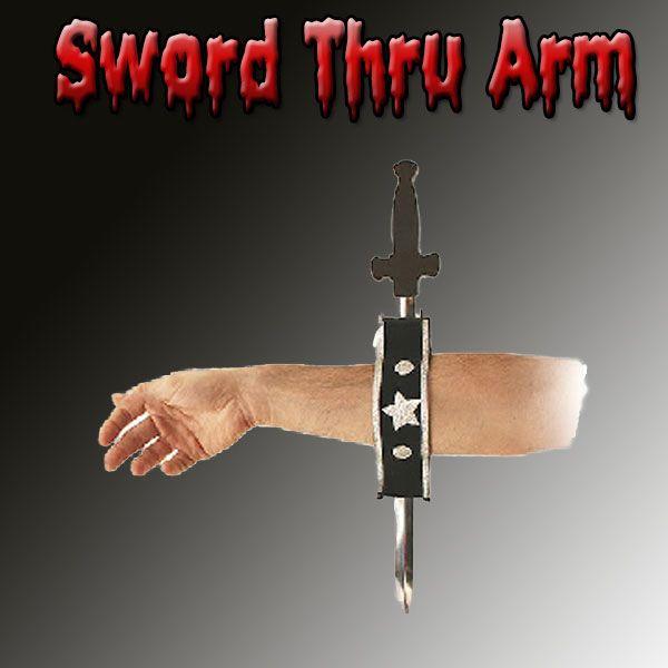 Sword Thru Arm Zaubertick Bühne