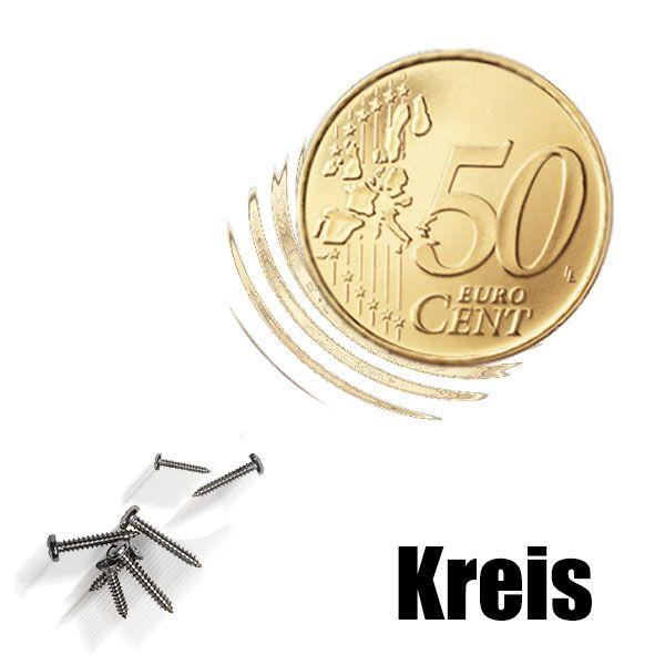 Magnetmünze 50 Cent Euro -Kreis- Zauberzubehör