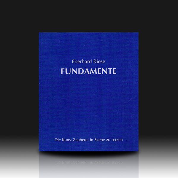 Fundamente - Eberhard Riese Zauberbuch über Programmgestaltung