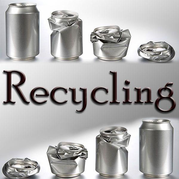 Recycling Zaubertrick Stand-Up