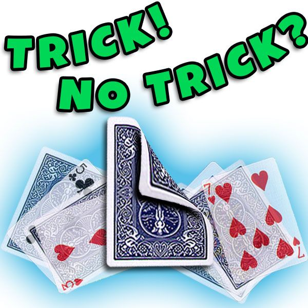 Trick No Trick Kartentrick
