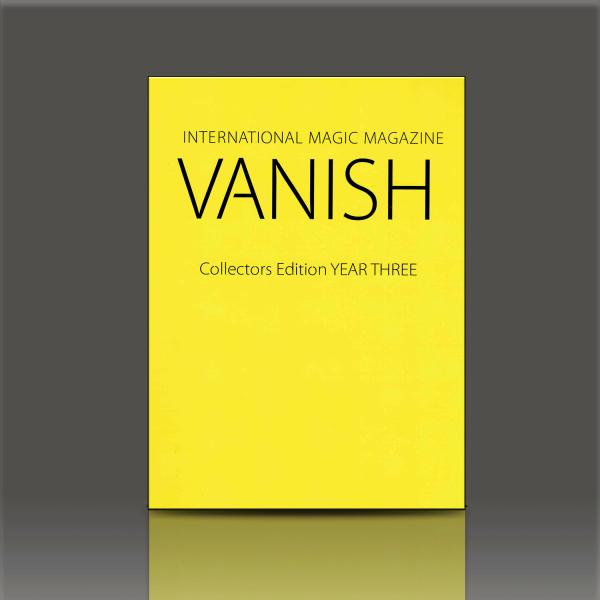 Vanish Magic Magazine Year Three Zauberbuch
