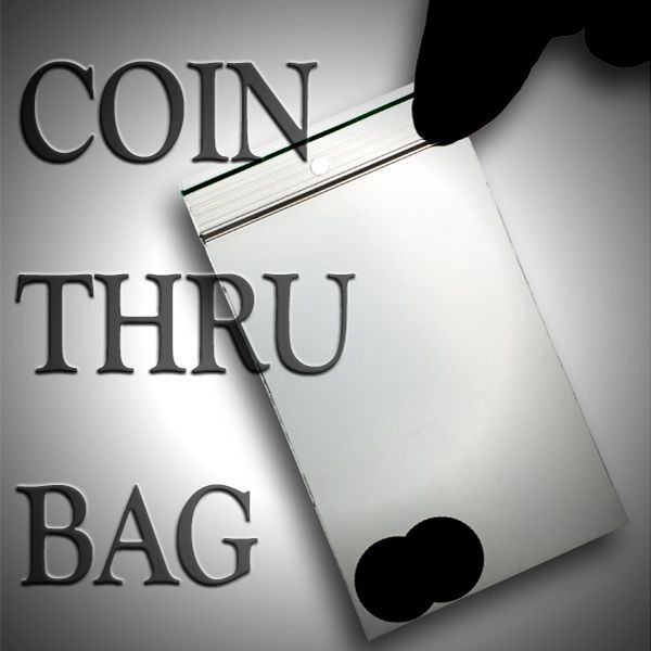 Coin Thru Bag - Morgan Dollar Zaubertrick