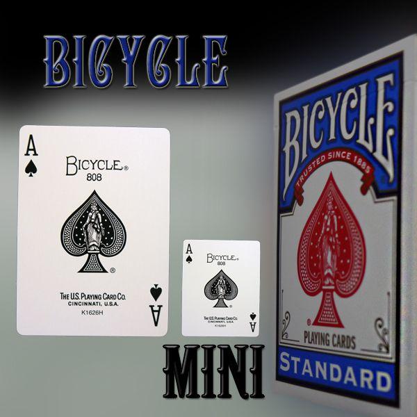 Bicycle Minicards Kartenspiel für Zauberkünstler