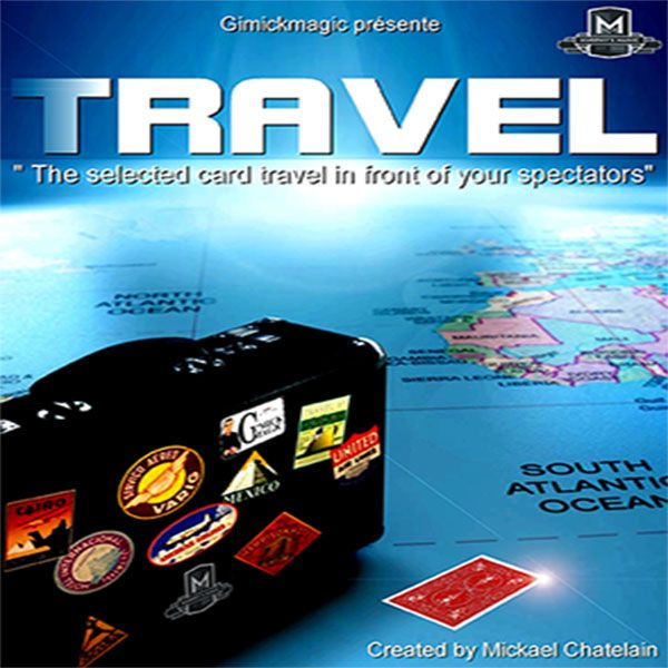 TRAVEL by Mickael Chatelain Kartentrick