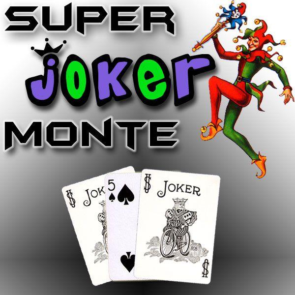 Super Joker Monte Kartentrick