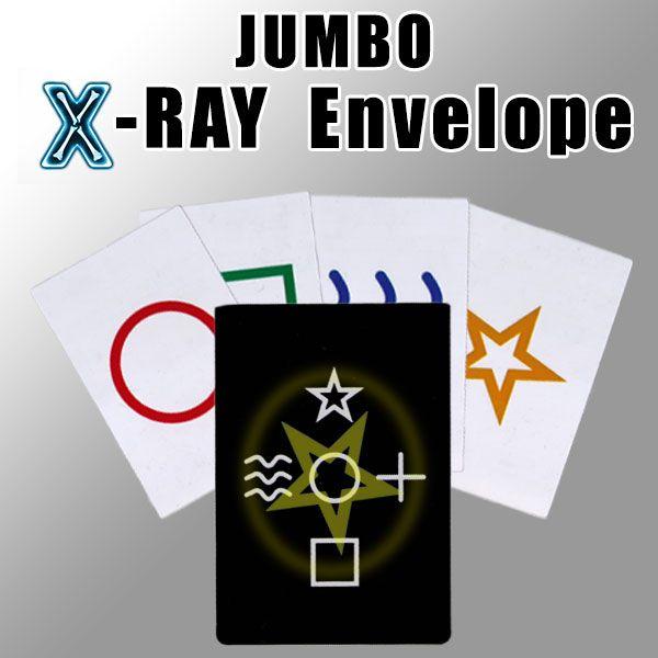 Jumbo X-Ray Envelope Mentaltrick für die Bühne