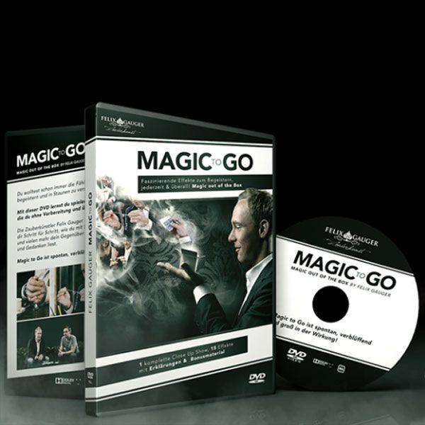 Magic to Go Zauber DVD für Anfänger