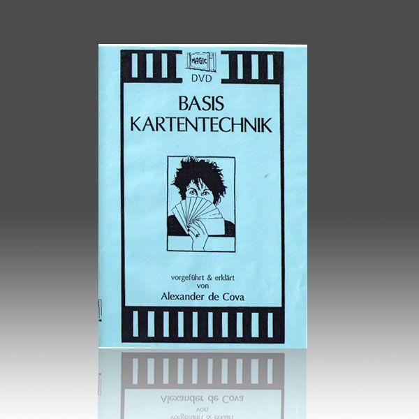 Basis - Kartentechnik DVD für Kartentricks