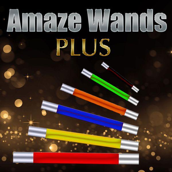 Amaze Wands Plus Zauberstab Zaubern für Kinder Zauberzubehör