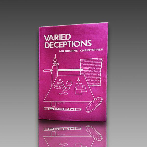 Varied Deceptions -M. Christopher Zauberbuch