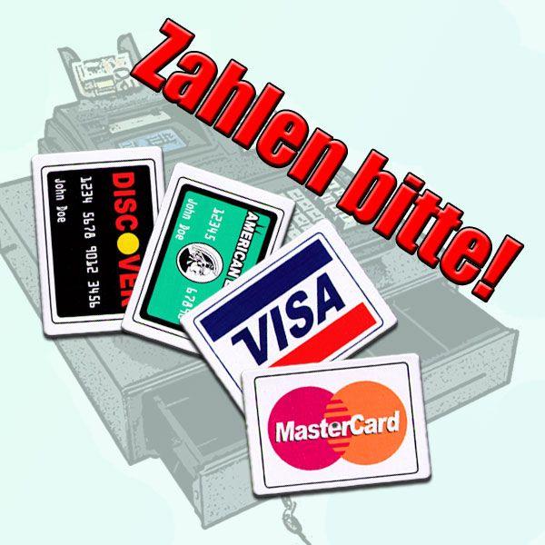 Zahlen Bitte Charge it Zaubertrick Kartentrick
