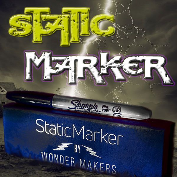 Static Marker - Wonder Makers Zaubertrick Close -.Up