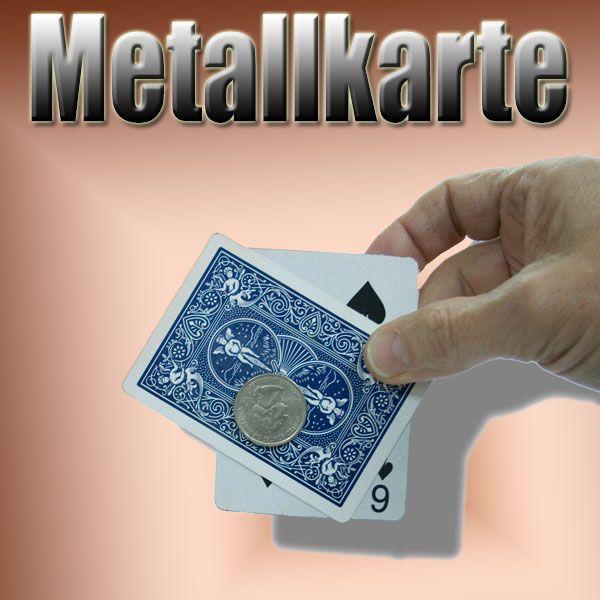 Metallkarte Bicycle Trickkarte
