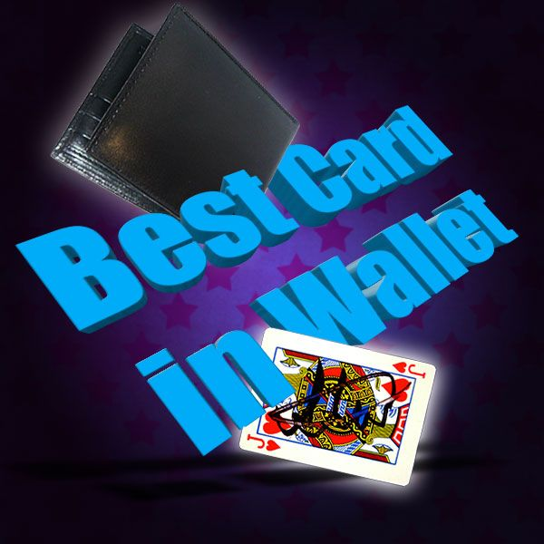 Best Card in Wallet Trickbrieftasche für Zauberkünstler