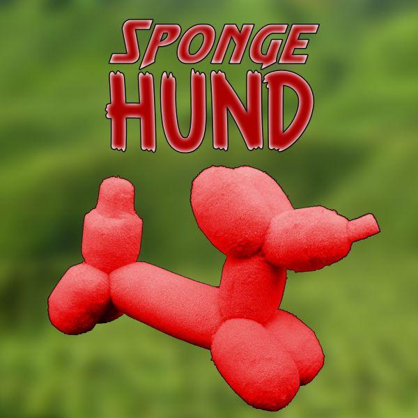 Sponge Balloon Hund - Alexander May