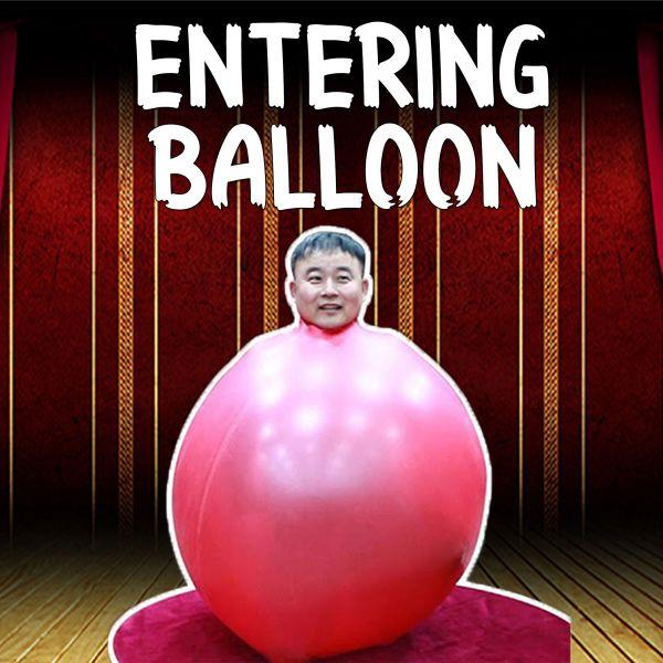 Entering Balloon Risenballon