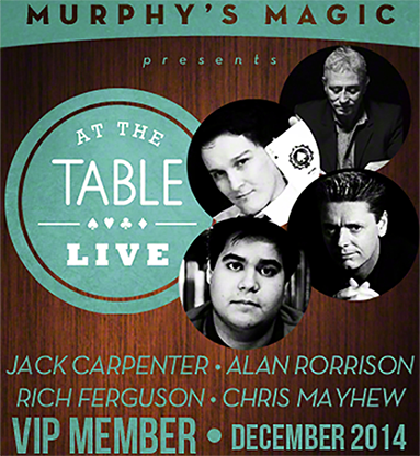 At The Table VIP Member December 2014 video DOWNLOAD