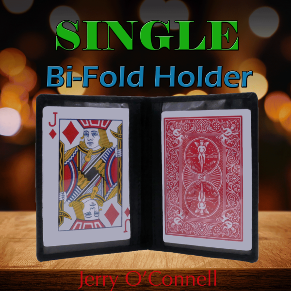 Single Bi-Fold Holder by Jerry O'Connell and PropDog (Seconds) Zauberzubehör