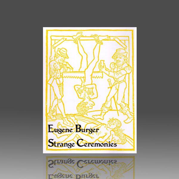 Strange Ceremonies by Eugene Burger Zauberbuch