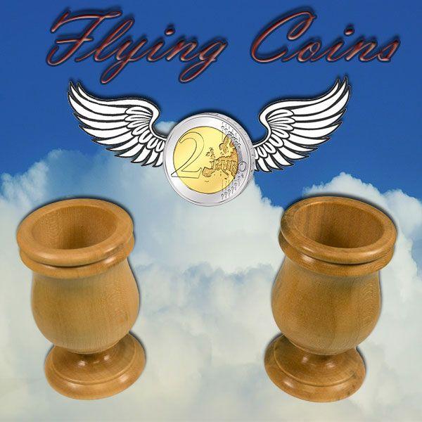 Flying Coins Zaubertrick mit Münzen