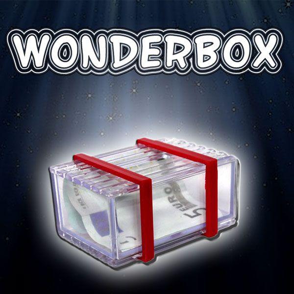 Wonderbox Zaubertrick für Anfänger