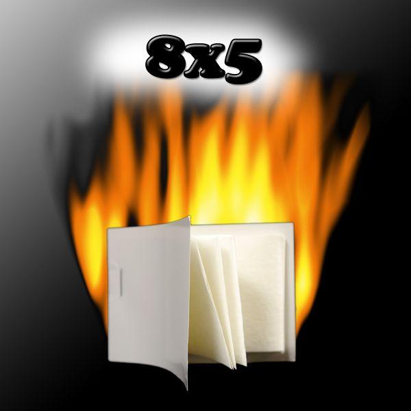 Flash Pad Pyropapier Zauberzubehör Papier das rückstandslos verbrennt