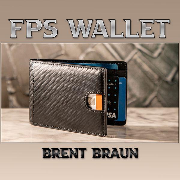 FPS Wallet Brent Braun Brieftasche für Zauberkünstler Zaubertrick