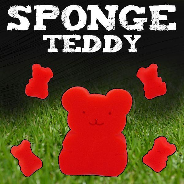 Sponge Teddybear Family Zaubertricks mit Sponge