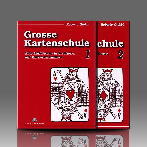Die Grosse Kartenschule, Bd. 1&2 Zauberbuch