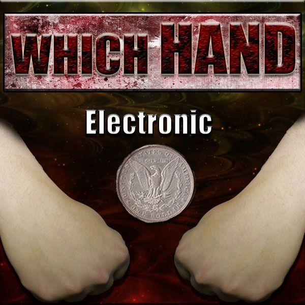 Which Hand electronic Zaubern mit Münzen Mentalmagie