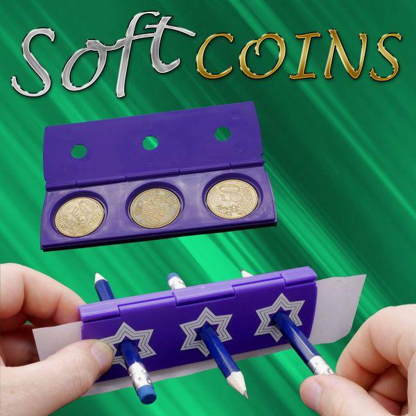 Münztrick Soft Coins