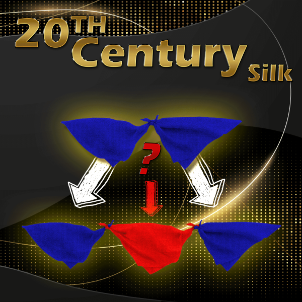 20th Century Silk 45cm