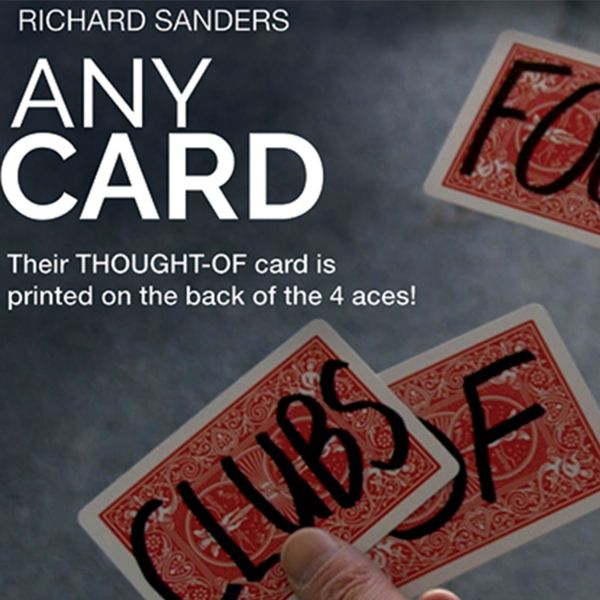 Any Card - Richard Sanders Kartentrick