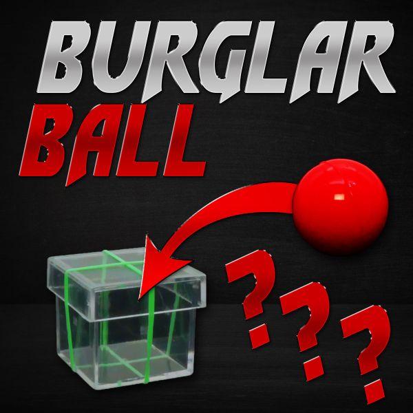 Burglar Ball Close Up Zaubertrick