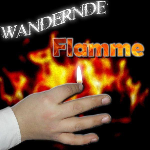 Wandernde Flammen - Traveling Flame Zaubertrick Bühne