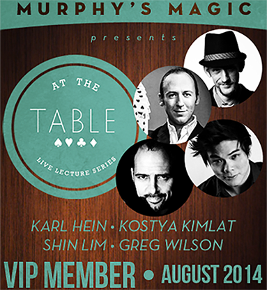 At The Table VIP Member August 2014 video DOWNLOAD