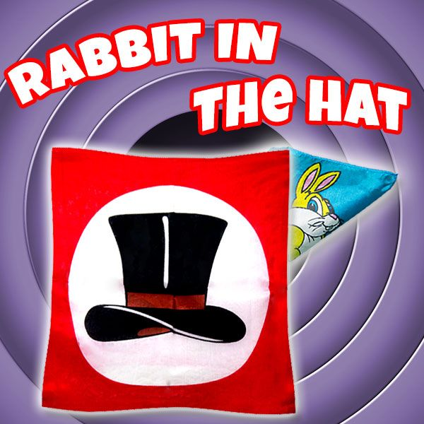 Rabbit in the Hat Zaubertrick Stand-Up