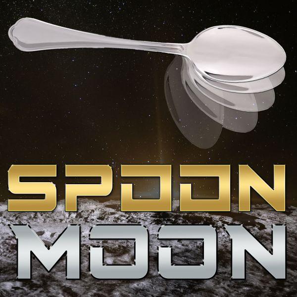 Spoon Moon geliehener Löffel verbiegt sich Zaubertrick für Mentalisten
