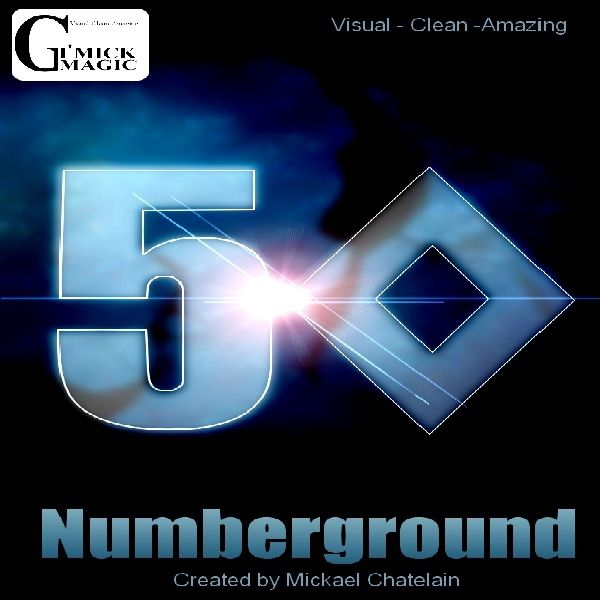 Numberground by Mickael Chatelain Kartentrick