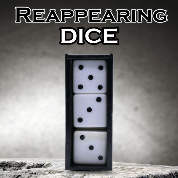 Reappearing Dice Small