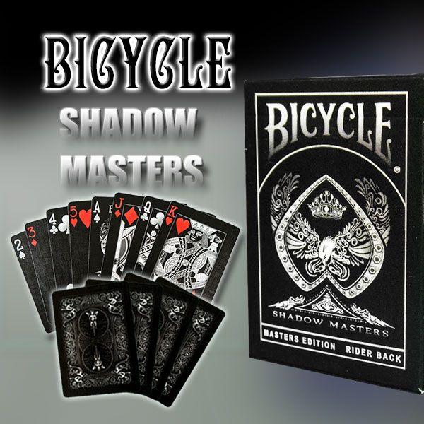Bicycle Shadow Masters Kartenspiel für Zauberkünstler