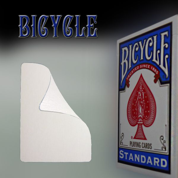 Bicycle Doppelblanko Trickkartenspiel für Zauberkünstler