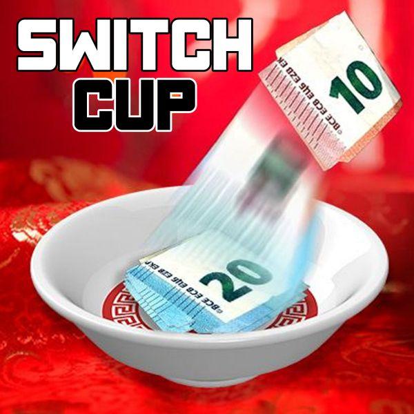 Switch Cup by Jérôme Sauloup Zaubertrick