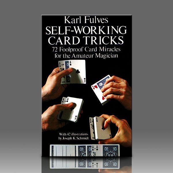 self working card tricks Zauberbuch